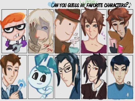 fave charas meme by wafflebox