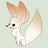 Fennec Fox by lemurali