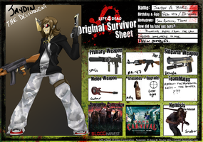 L4D Sheet thingy by GriffSGirl