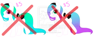 Pastel Gothic ponies (Adoptable) CLOSED by Midnight-Estelle