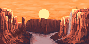 Canyon by SirFoggyForest