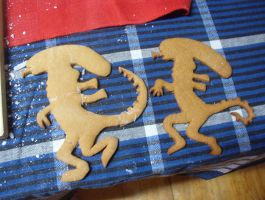 Aliens gingerbread by vororov