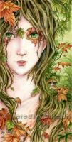 Dryad Portrait by MeredithDillman