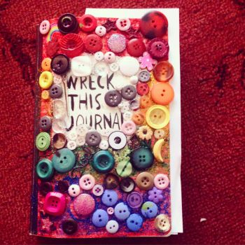 Wreck this journal cover by Emzzzer