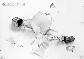 Inconsistenza (Pencil on paper) by DiegoKoi