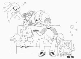 Hangn' and Bangn' by ramsdaddy
