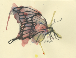 Chance and Gesture butterfly 1 by Drindex