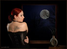 Magic of the moon by SandraVogel