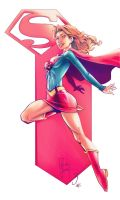 Supergirl by kcspaghetti