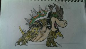 Re-worked Bowser by Rodjij