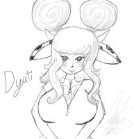 New OC: Dyuti by Coco-Apple