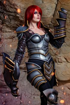 Ironscale Shyvana 5 by Kinpatsu-Cosplay