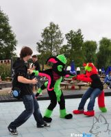 Fighting over Mr Bubbles by FotoFurNL