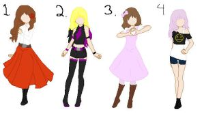 Kawaii adopts! OPEN by Leafy089
