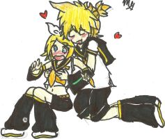 Request- Rin x Len by VocaloidRinxLen