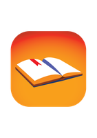 Book Icon iOS7 Style by themarkerchangesall