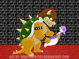 Bowser also likes fluffeh by Whatever1702