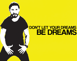 Shia Labeouf Wallpaper by wooswaa