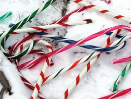 Candy Cane Clutter 1 by monkeypunk413
