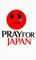 Pray For Japan by caesarleo