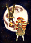 Alice and Kenta- Moon Watching by LadyAlexiaLastHope