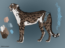 Adoptable - King Cheetah by Anipurk