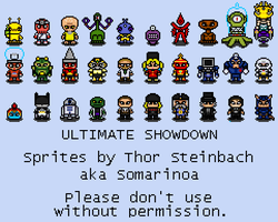 Ultimate Showdown Sprites 13 by gokou-sama
