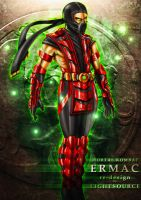 MK-Ermac-redesign by xXLightsourceXx