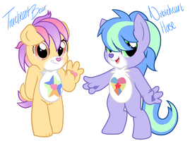 My Little Care Bears by familyof6