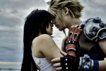 Cosplay- Tifa and Cloud Amano by ilaBarattolo