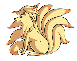 Day 19: Ninetales by PrinceofSpirits