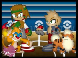 Contest Prize: Aztec and Rio Pokemon Match by CCgonzo12