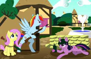 Ponyville Resistance by GSphere