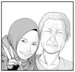 Father and Daughter by GaGaK89
