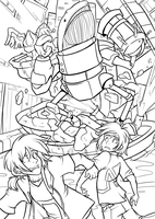 WIP collab: Whale Attack by enochcorp