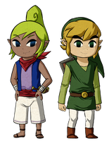 Link and Tetra by Icy-Snowflakes