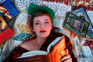 Carrie the Bookworm by TheDarkRoom-Photo