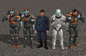 'Star Wars: Republic Commando' Clone Pack 2 XPS!!! by lezisell