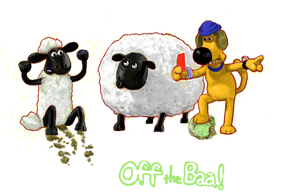Shaun the Sheep by Fran-foxxx