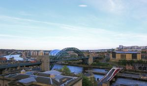 Newcastle Quayside VI by KERphotography