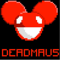 Deadmau5 pixel art by HazmatKevin