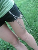 Black and Silver Chains by Averin-Renee