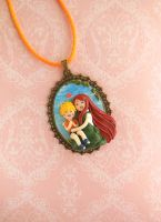 Naruto and Kushina *Motherlove Collection* Cameo by LittleBreeze