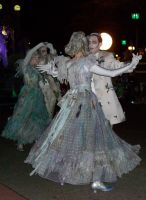Haunted Mansion Dancers by junkyardpicasso