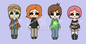 Closed 0/4 Cutie Adopts Points/Paypal by Aiko-Adopts