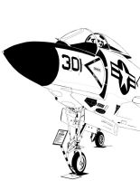 McDonnell F3H-2M Demon by bowdenja