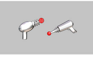 MMD Laser gun Pack by amiamy111