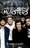 School of Monsters @antopackard1D by xBook-Coversx
