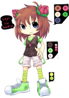 CE. Lexy the Seedrian :new outfit: by Miiukka