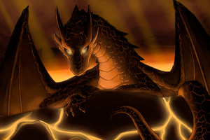 Lava Drake by Chromamancer